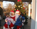 Santa & Mrs. Claus taking orders!