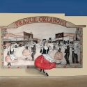 Prague Kolache Dancers Mural was also painted by Ace Walker was completed in 2011.