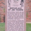 Monument to Jim Thorpe